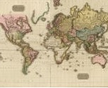 "Map by John Pinkerton, ""The World on Mercator's Projection"" (London: Cadell and Davies, 1812). Source and copyright: David Rumsey Historical Map Collection"